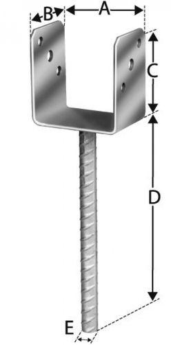 Simpsong Strong - Tie Pätka stĺpu DK 80x60